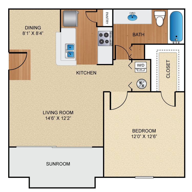 Floor plan image of A3 Braintree
