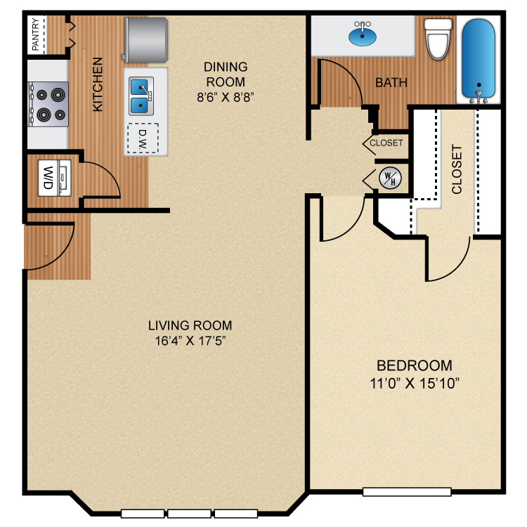 Floor plan image of A5 Tendring