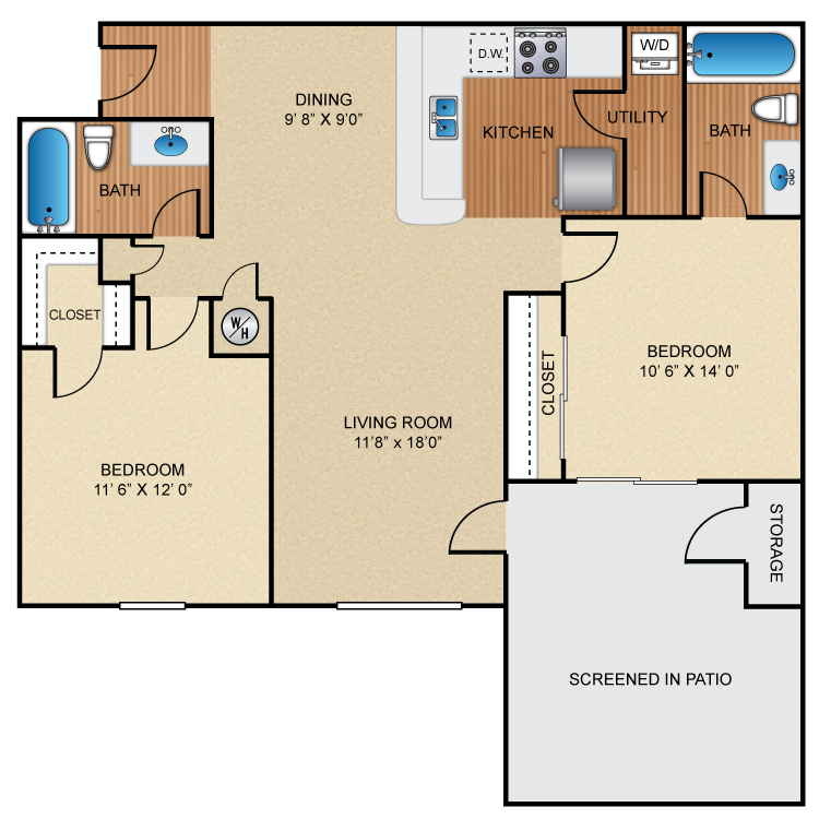 Floor plan image of B3 Castle Point