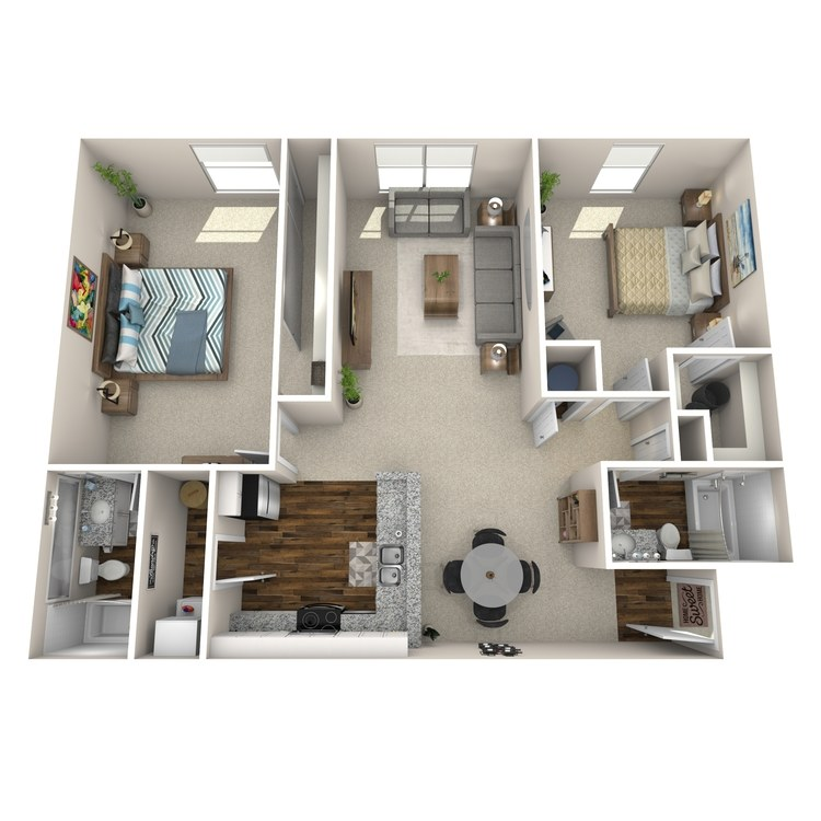 Floor plan image of B2 Chelmsford