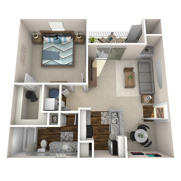 Floor plan image of A1 Brentwood