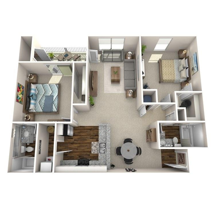 Floor plan image of B1 Colchester