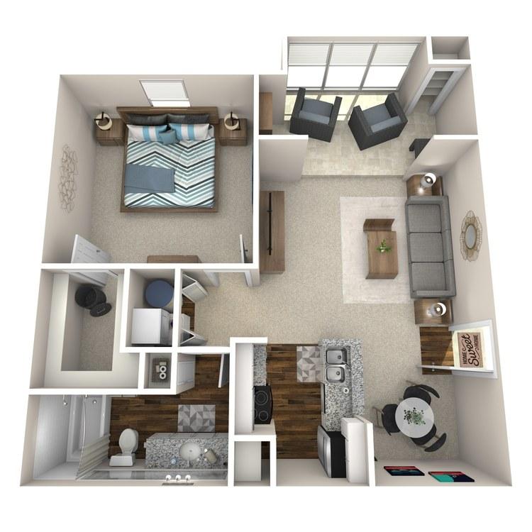 Floor plan image of A3 Braintree