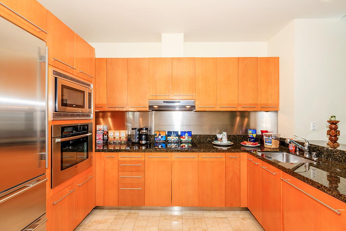 LEASING OFFICE KITCHEN AT SKY LAS VEGAS IN LAS VEGAS, NEVADA