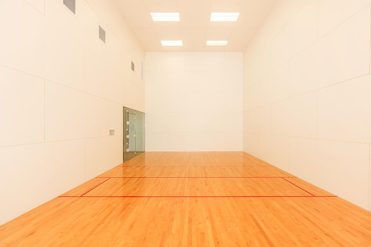 RACQUETBALL COURT AT SKY LAS VEGAS IN LAS VEGAS, NEVADA