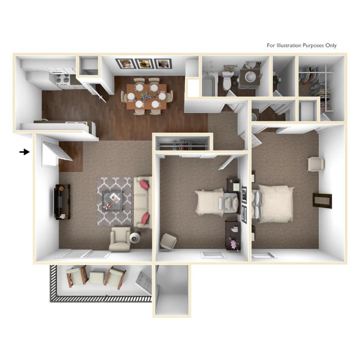 Floor plan image of San Jacinto