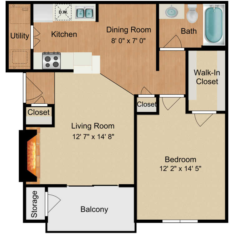 Floor plan image of Monarch