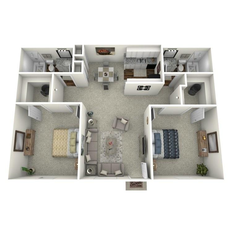 Floor plan image of H