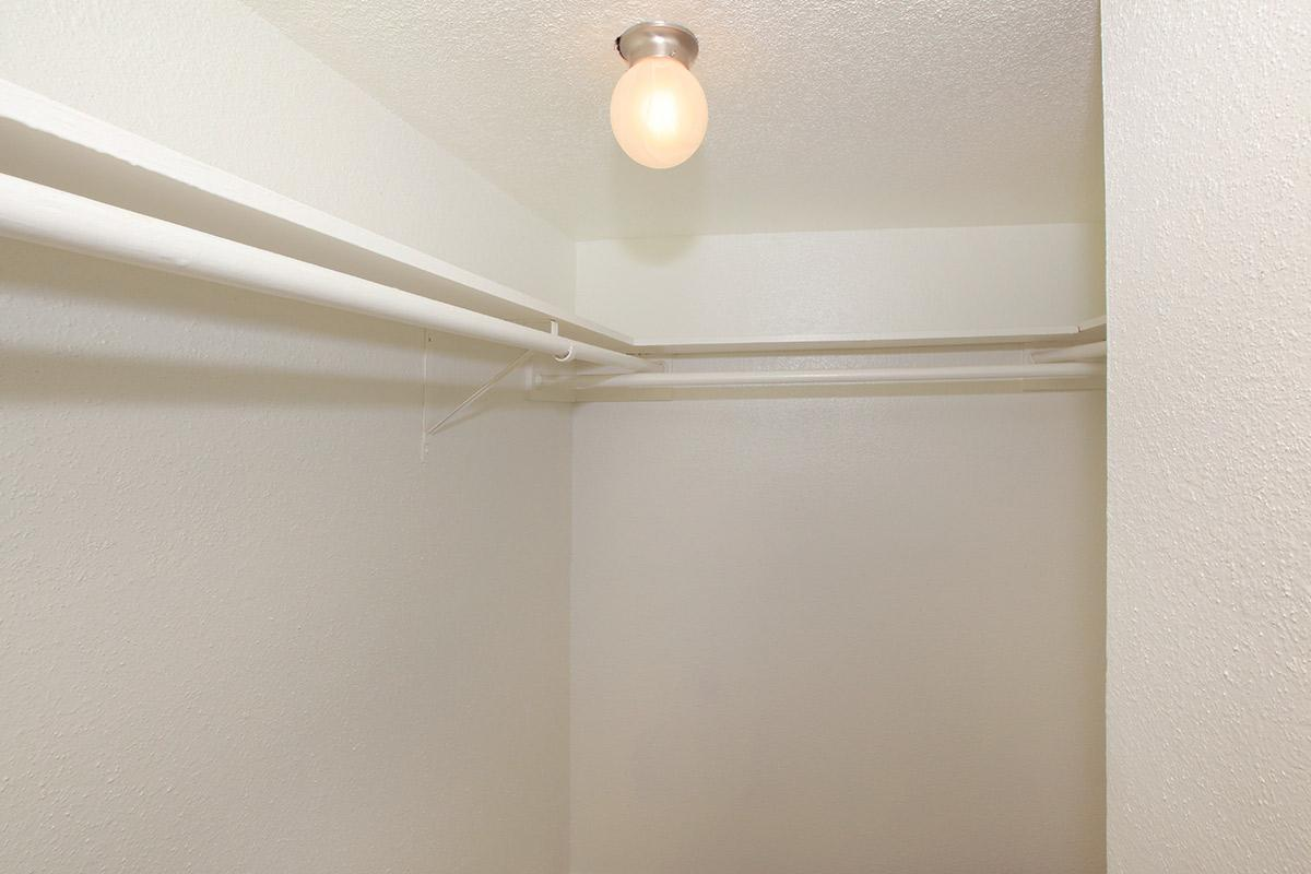 a lamp hanging from the ceiling
