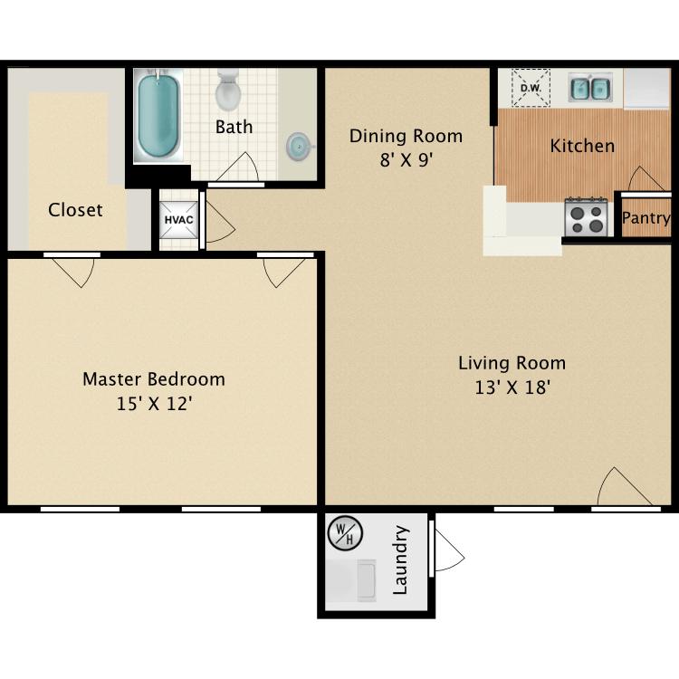 Floor plan image of Alpine