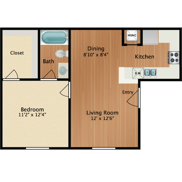 Floor plan image of Sandpiper