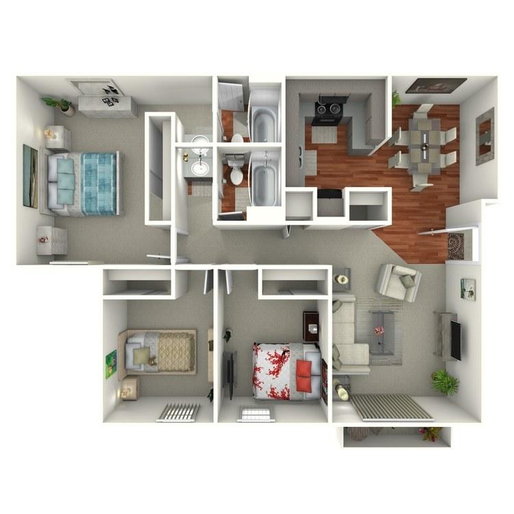 Floor plan image of Breckenridge