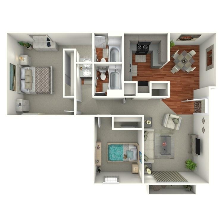 Floor plan image of Keystone