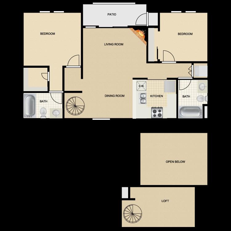 Floor plan image of Mission San Jose III