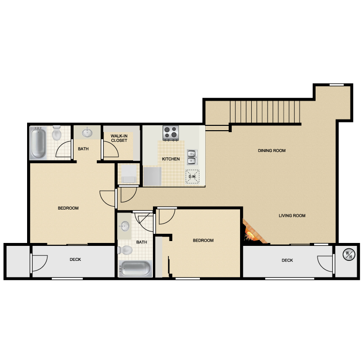 Floor plan image of Mission San Luis Rey