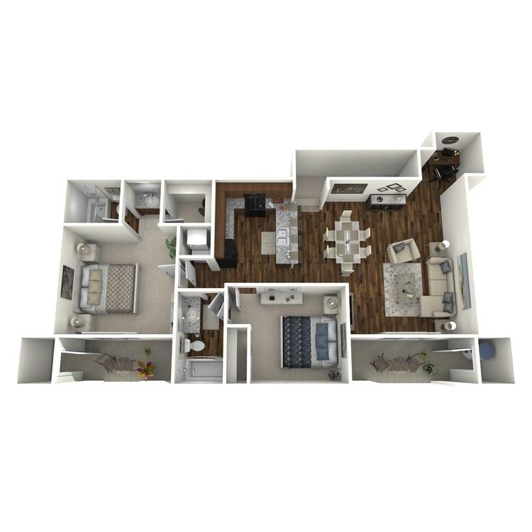 Floor plan image of San Luis Rey