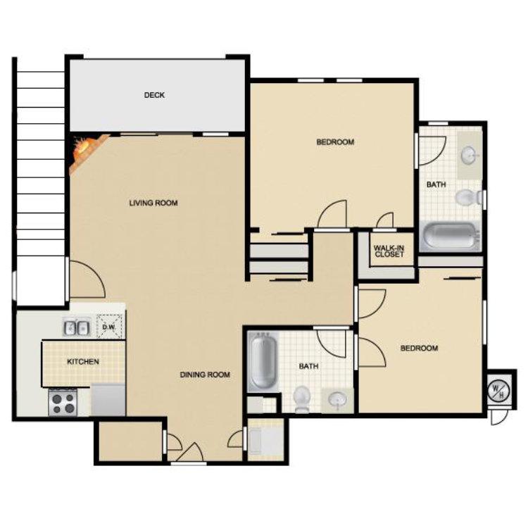 Floor plan image of Santa Cruz II