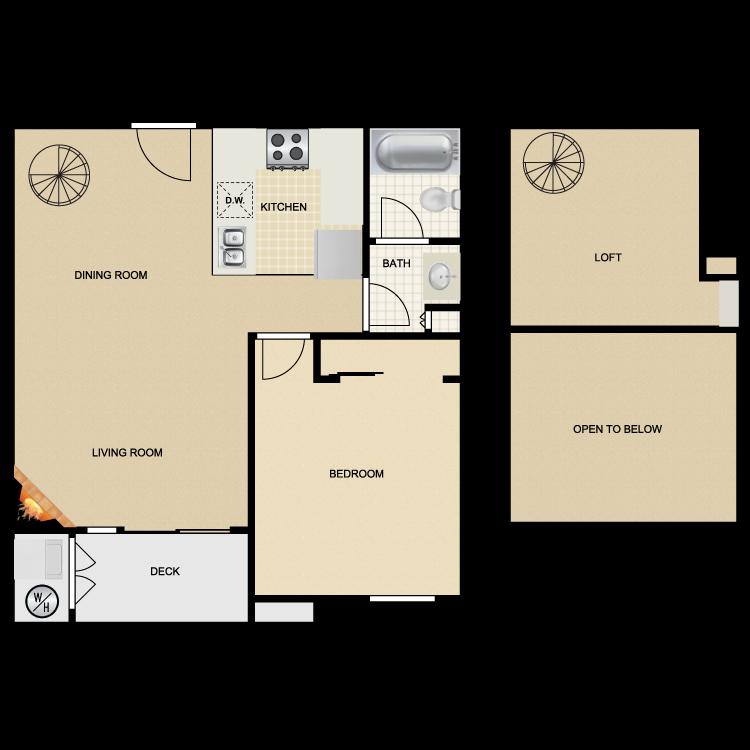 Floor plan image of Mission Santa Barbara