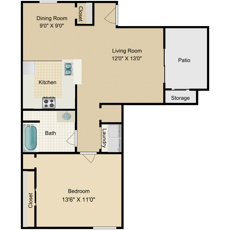 Floor plan image of The Deodar