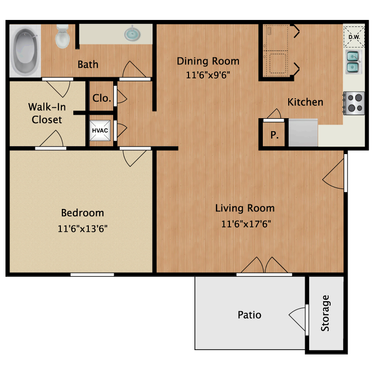 Floor plan image of Ansley