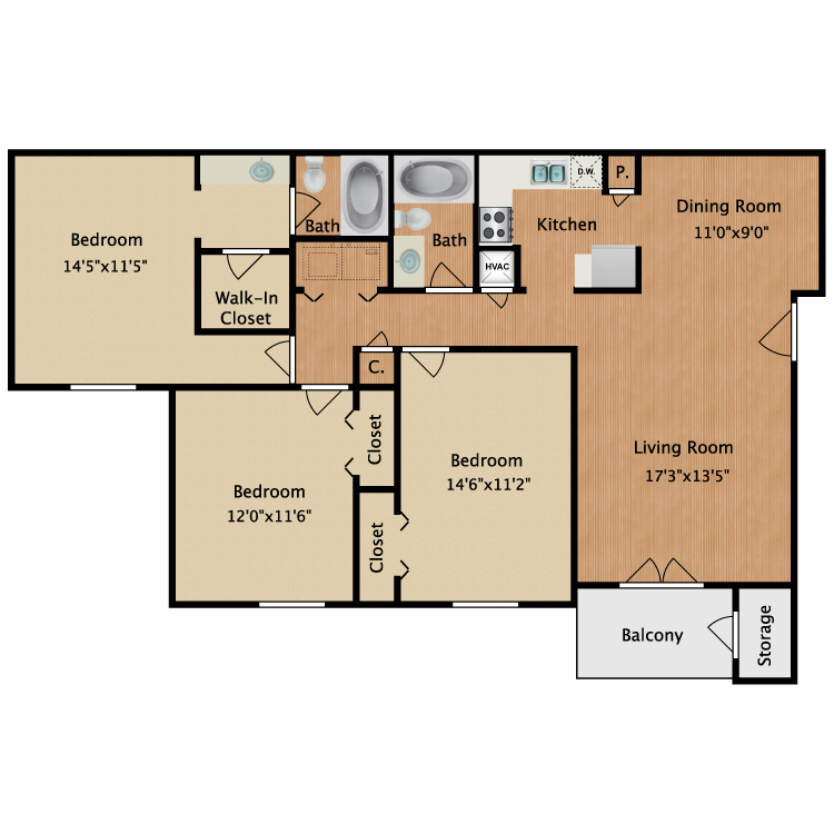 Floor plan image of Sydney