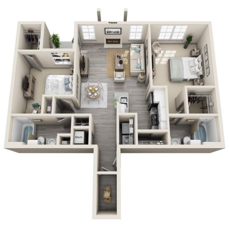 Floor plan image of Dogwood Lower