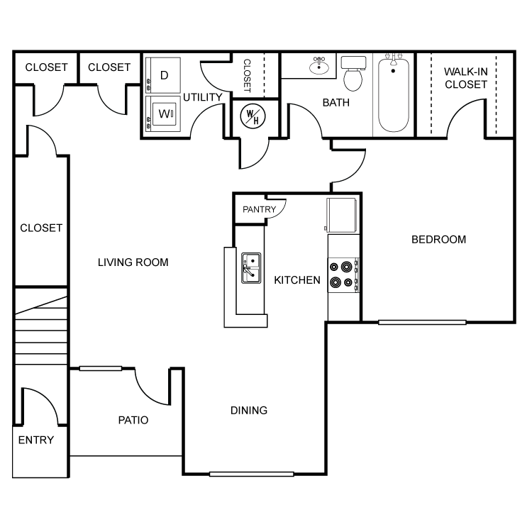 Floor plan image of White Pine