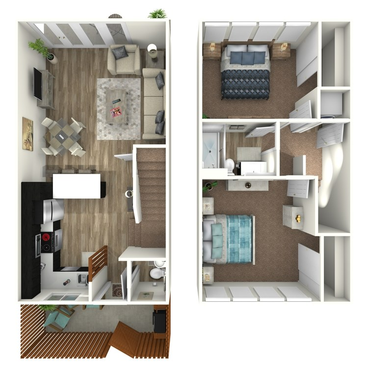 Floor plan image of Plan A Penthouse