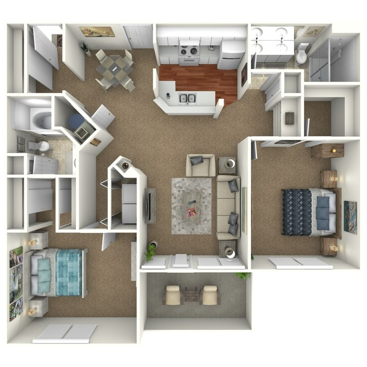 Floor plan image of The Sapphire