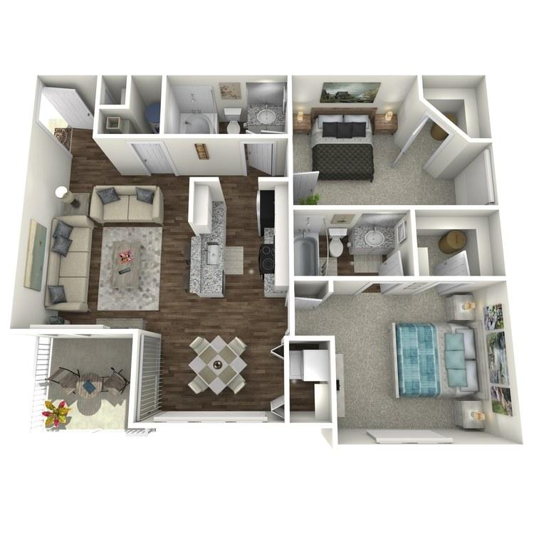 Floor plan image of The Amethyst