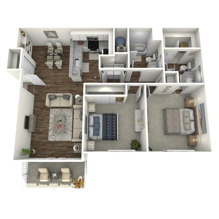 Floor plan image of The Sandstone