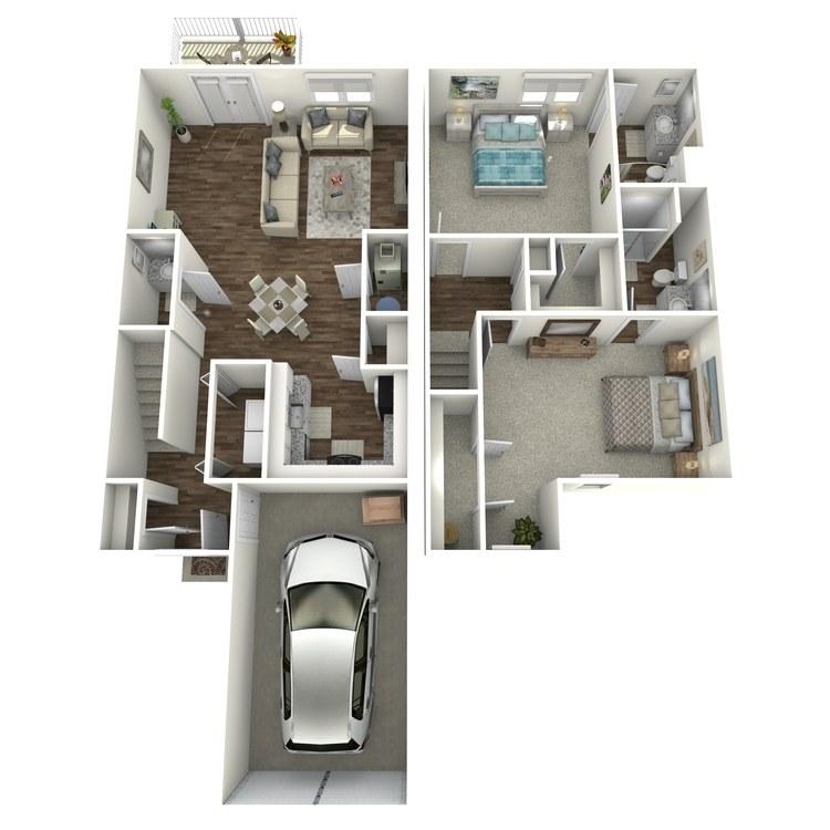Floor plan image of The Quartz II