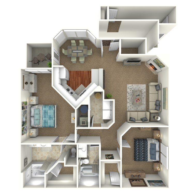 Floor plan image of The Onyx