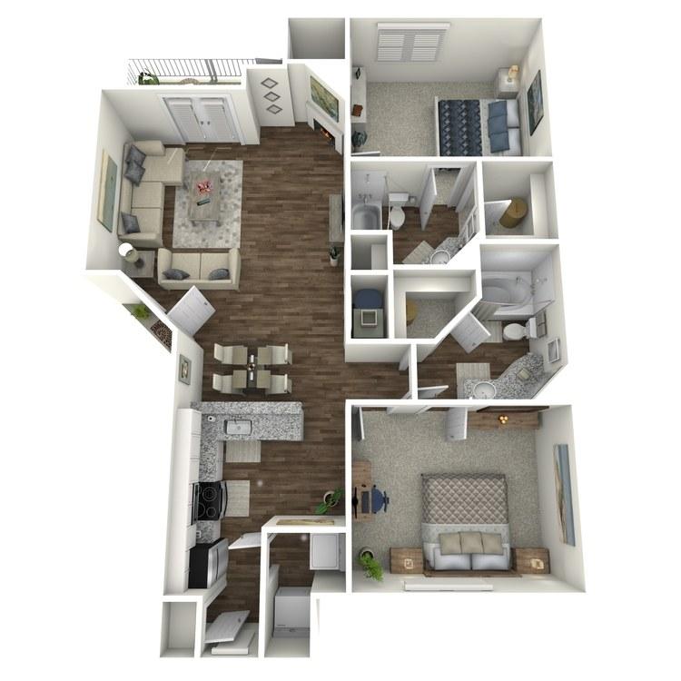 Floor plan image of The Limestone
