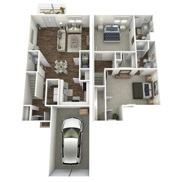 Floor plan image of The Quartz