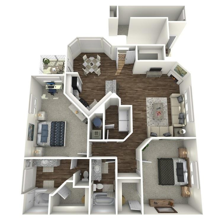 Floor plan image of The Onyx