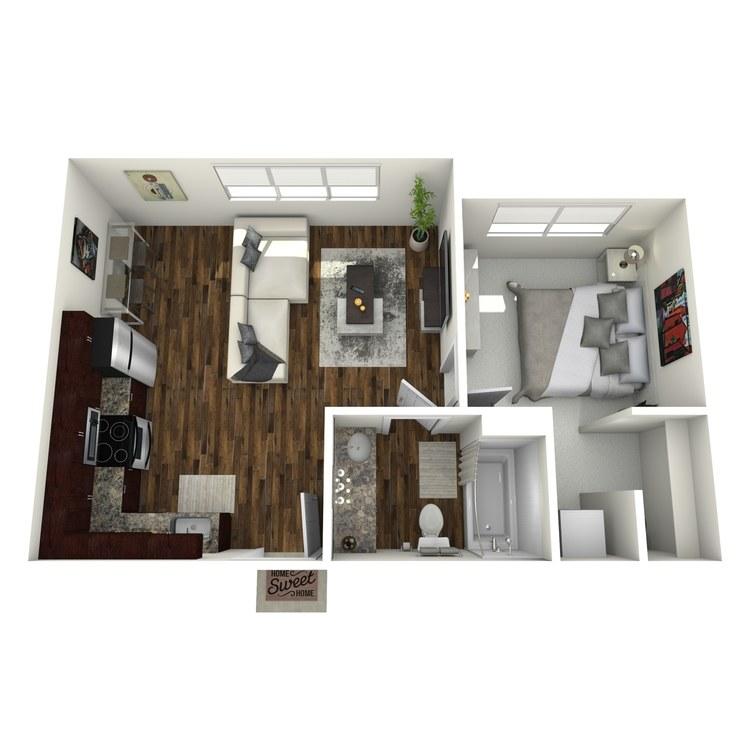 Floor plan image of The Alcove II