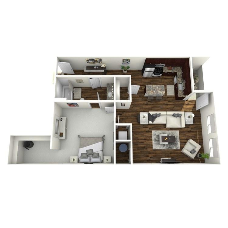 Floor plan image of The Unique