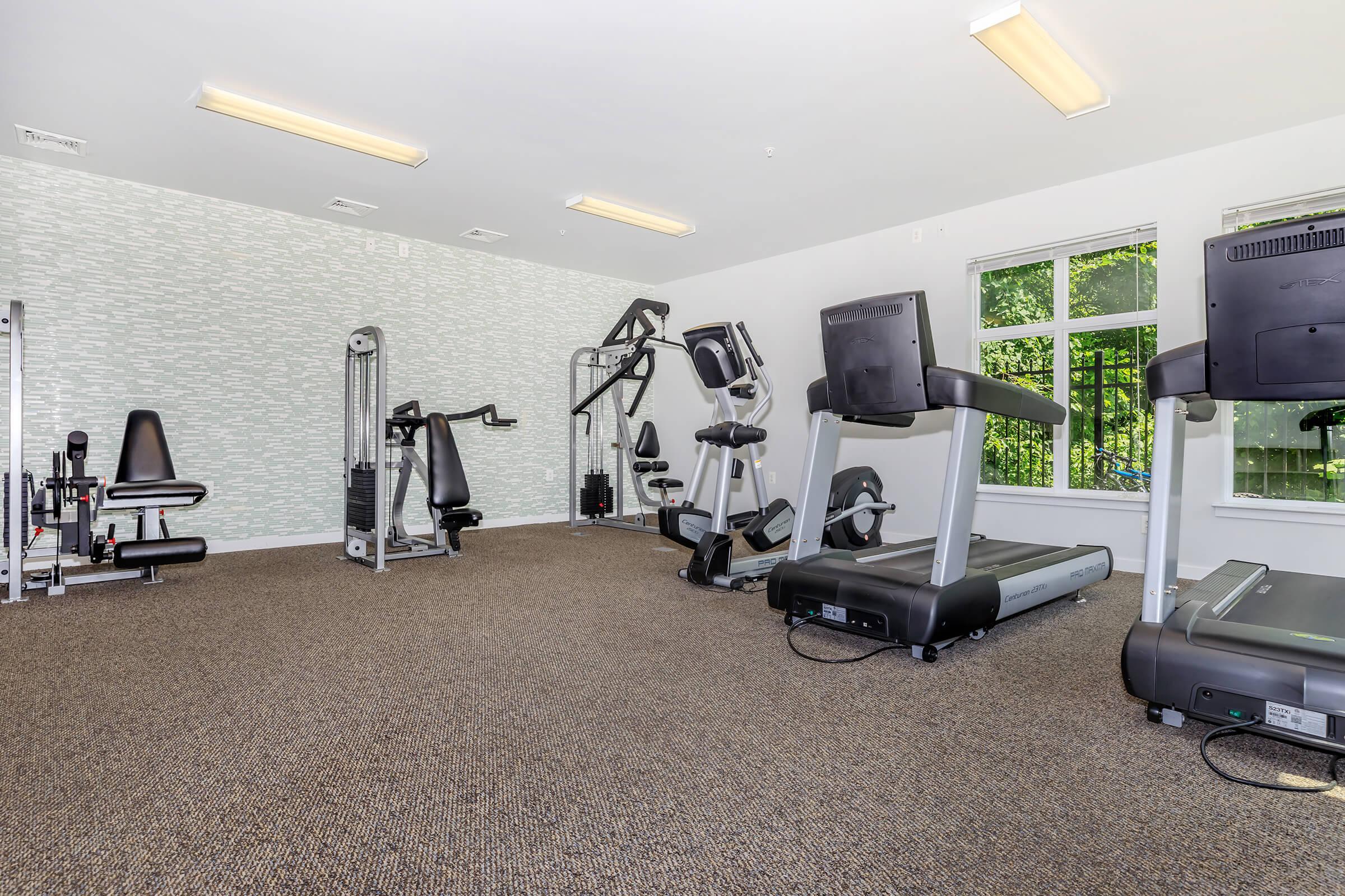 Fitness Center at C Street Flatsin Laurel MD