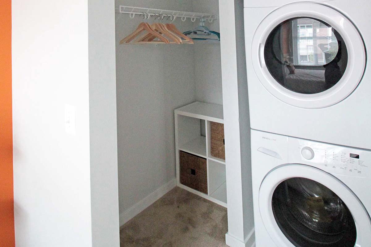 Laundry Room at C Street Flatsin Laurel MD