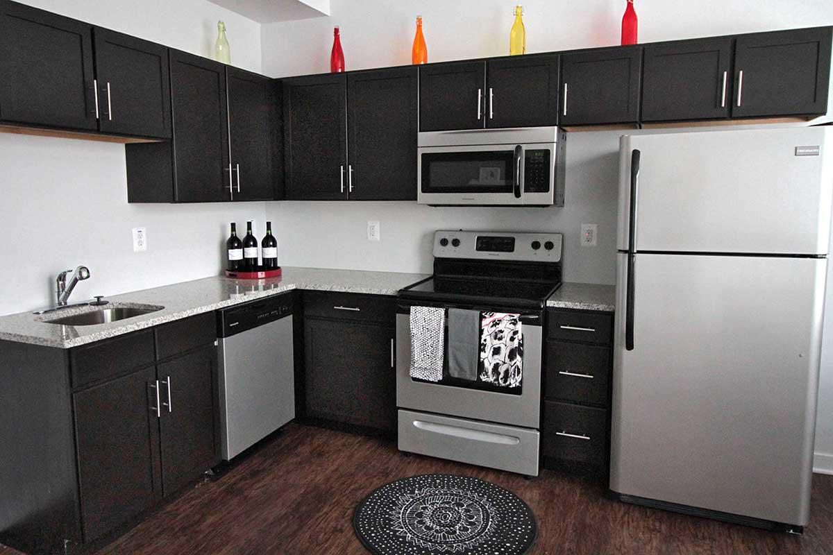 Kitchen at C Street Flatsin Laurel MD