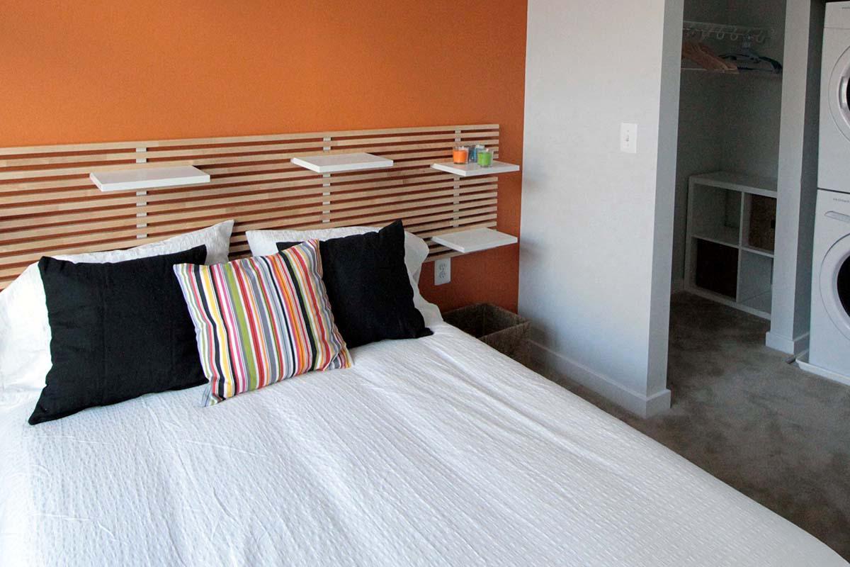 Bedroom at C Street Flatsin Laurel MD