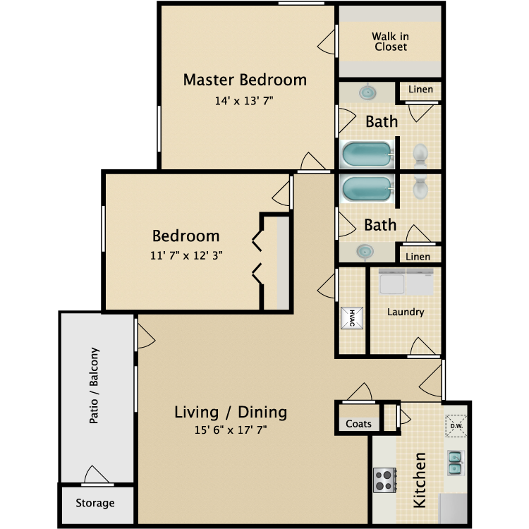 Floor plan image of Wynnewood