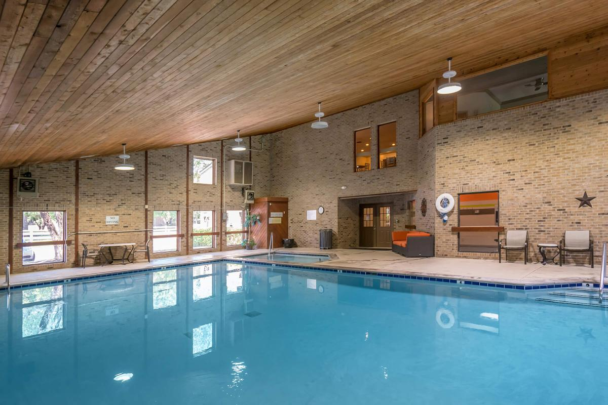 Indoor Salt Water Swimming Pool and Hot Tub