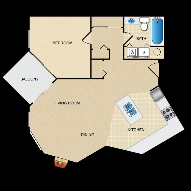 Floor plan image of Alder