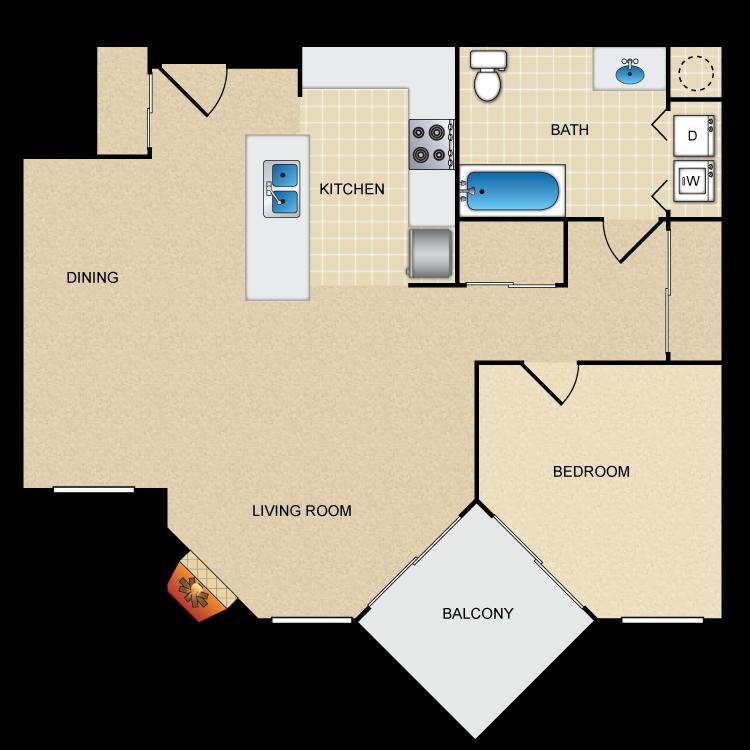 Floor plan image of Cedar