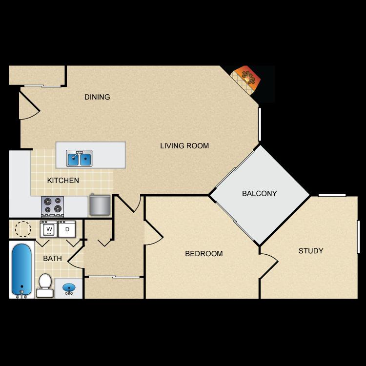 Floor plan image of Hazel