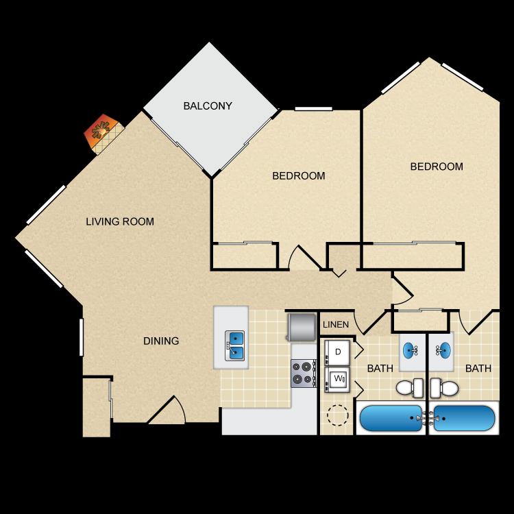 Floor plan image of Plum