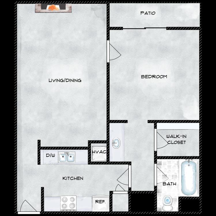 Floor plan image of 722