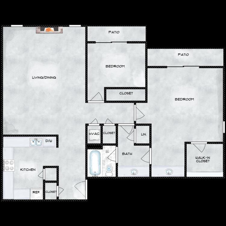 Floor plan image of 980